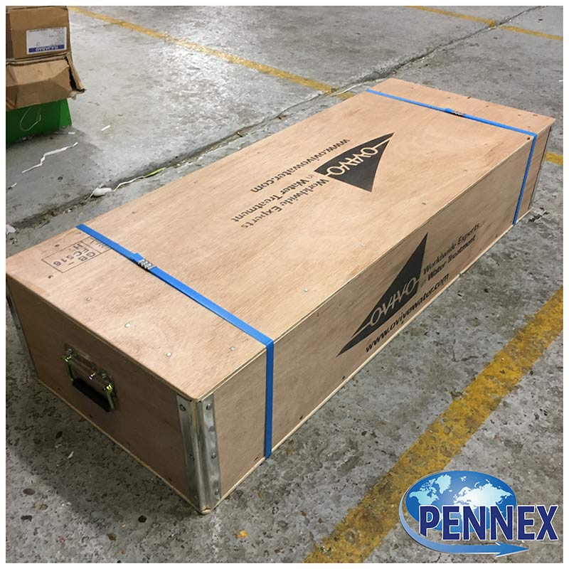 Larger Handled Plywood Box