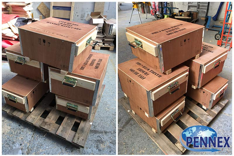 Handled Airfreight Plywood Boxes