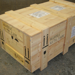 Softwood BER case for road and ocean freight